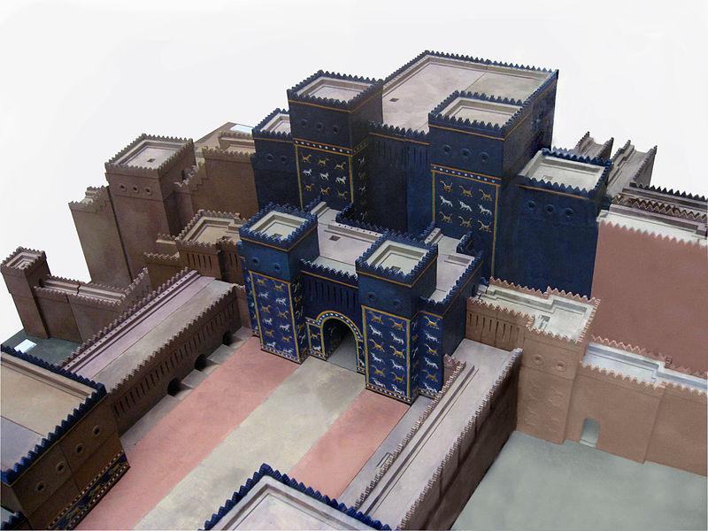 ishtar babilonia Belin arte arquitectura