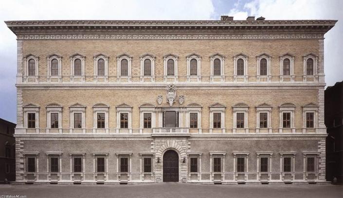 Palacio Farnese Roma arquitectura Italia