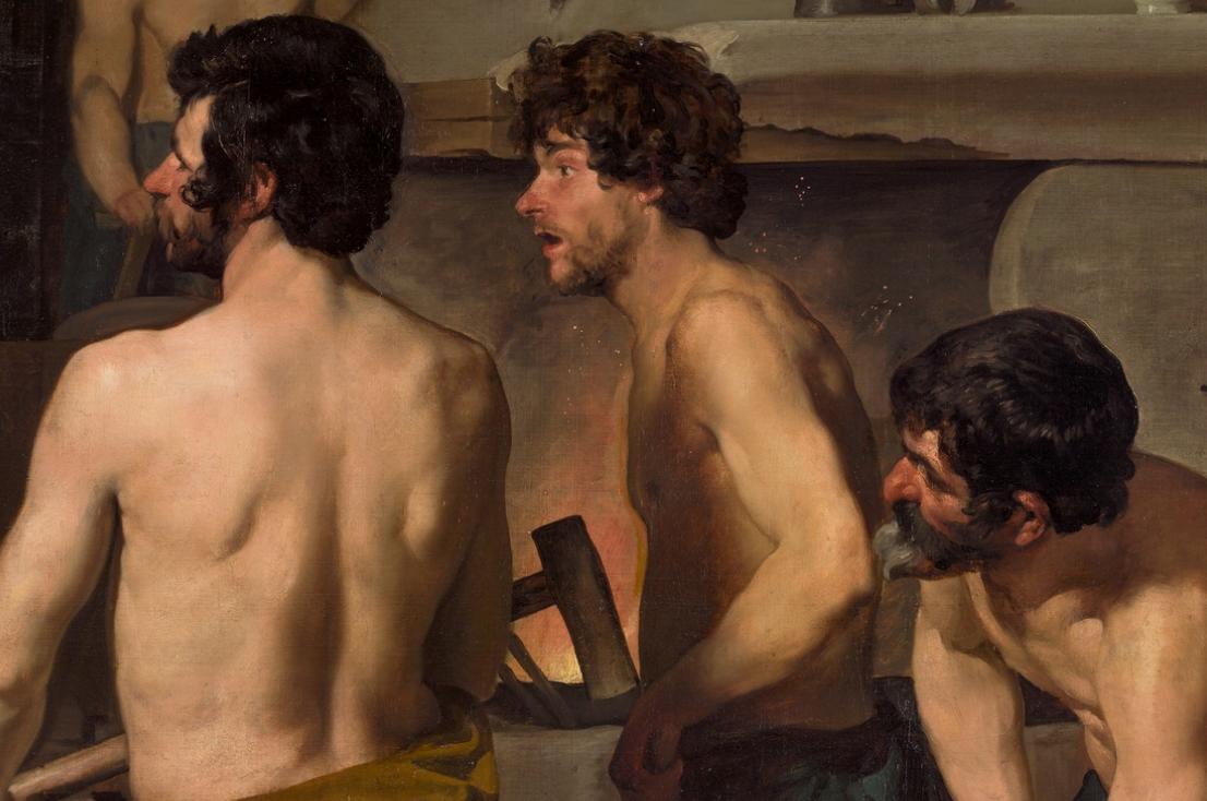 Vulcano arte pintor