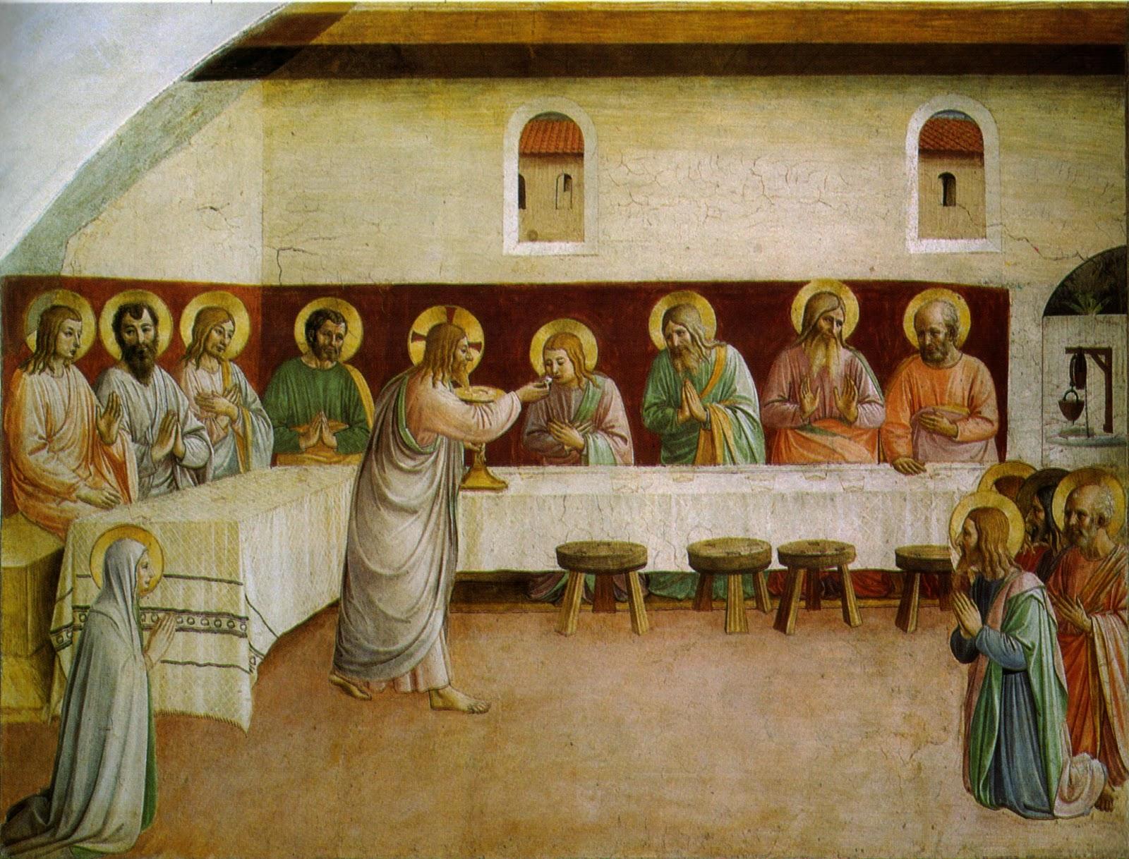 renacimiento eucristia fra angelico pintura