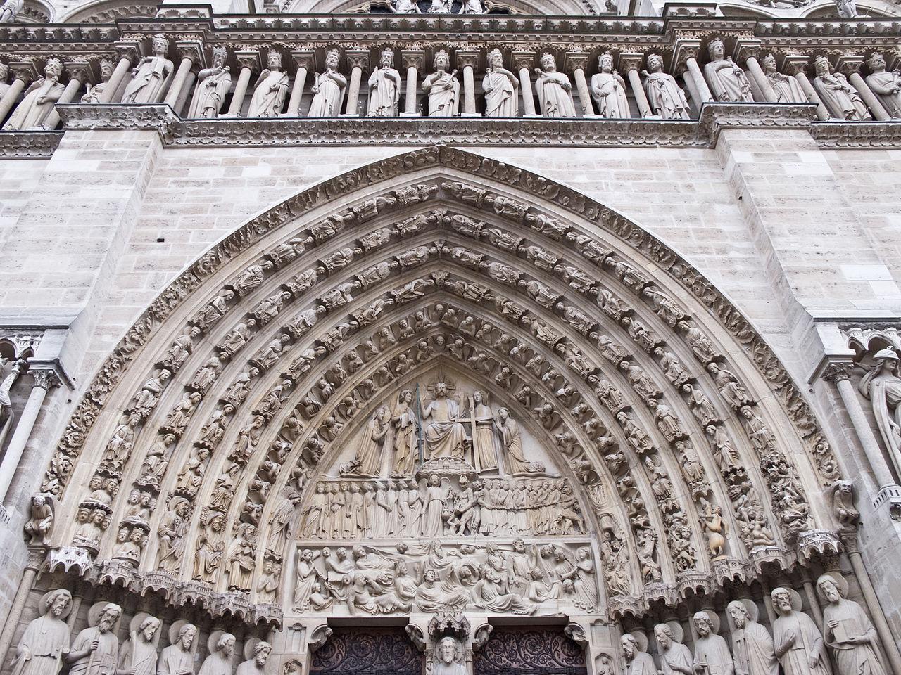 escultura juicio final Francia arte
