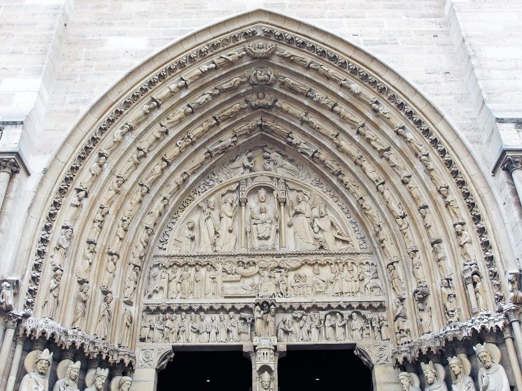 Notre-Dame París arte