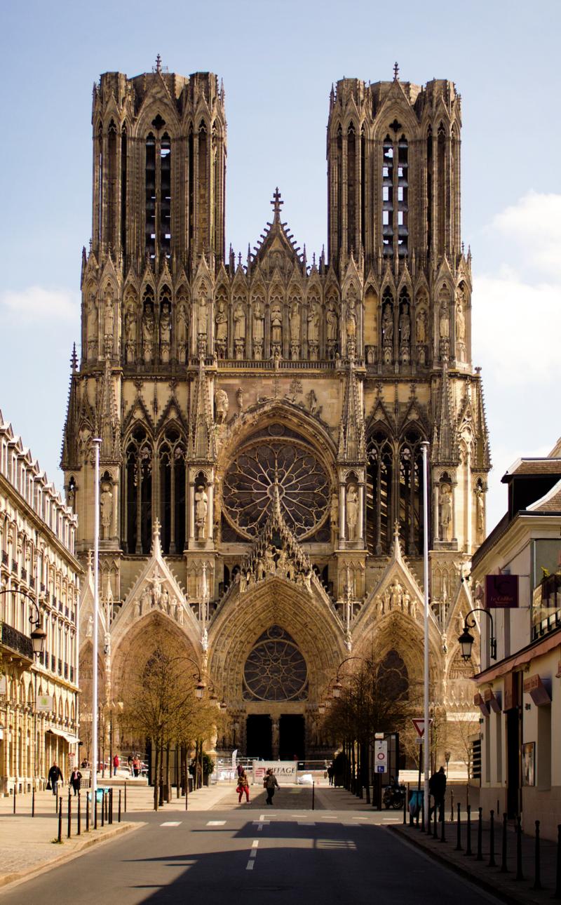 catedral reims arquitectura medieval