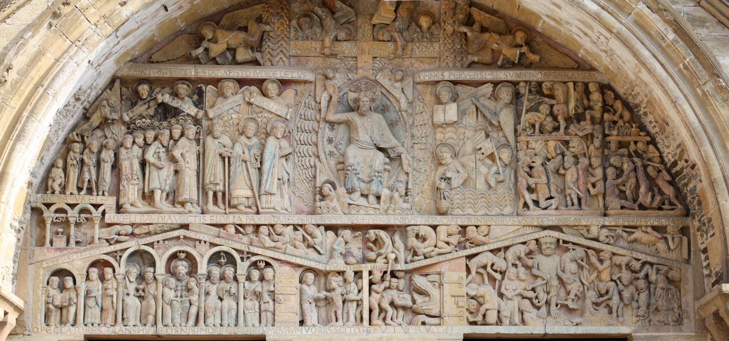 escultura románico arte francia