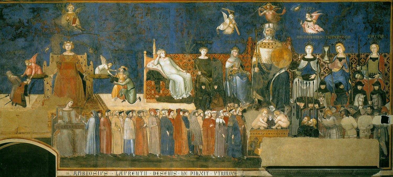 Lorenzetti toscana siena gótico pintura toscana