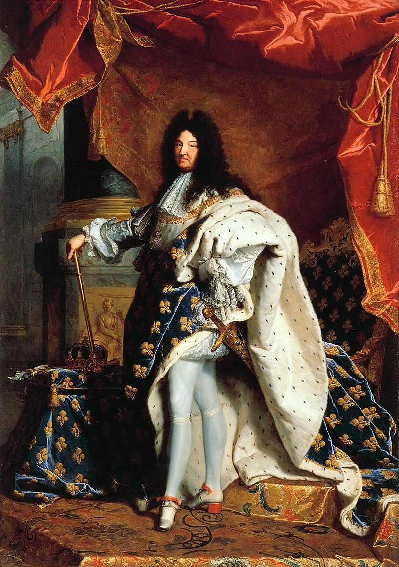 Louvre Rigaud Francia Luís XIV Rey Sol historia pintura