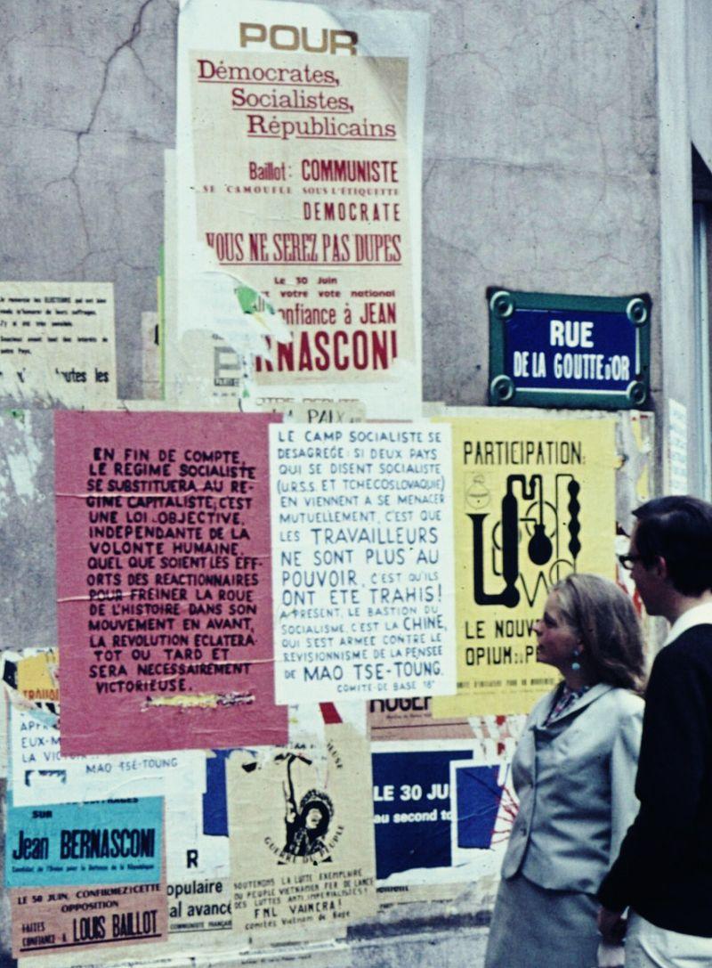 parís 1968 arte política