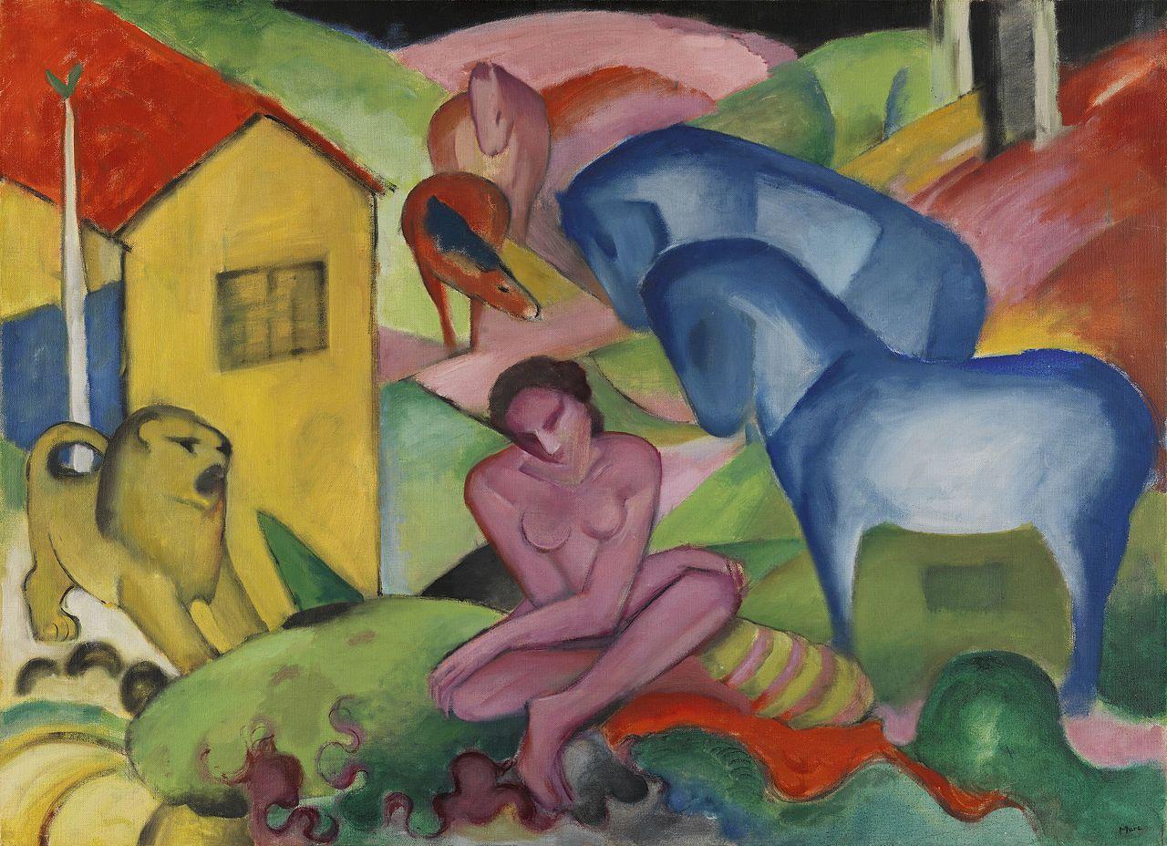 Franz Marc expresionismo