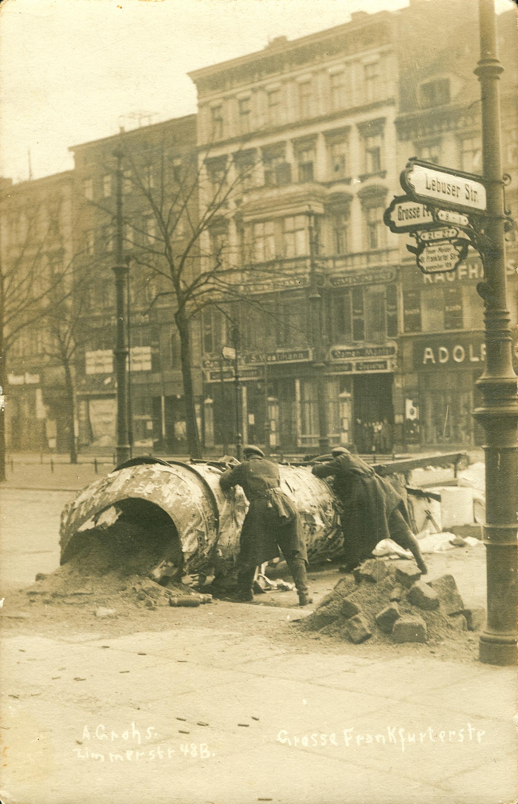 historia Berlín Alemania revolución