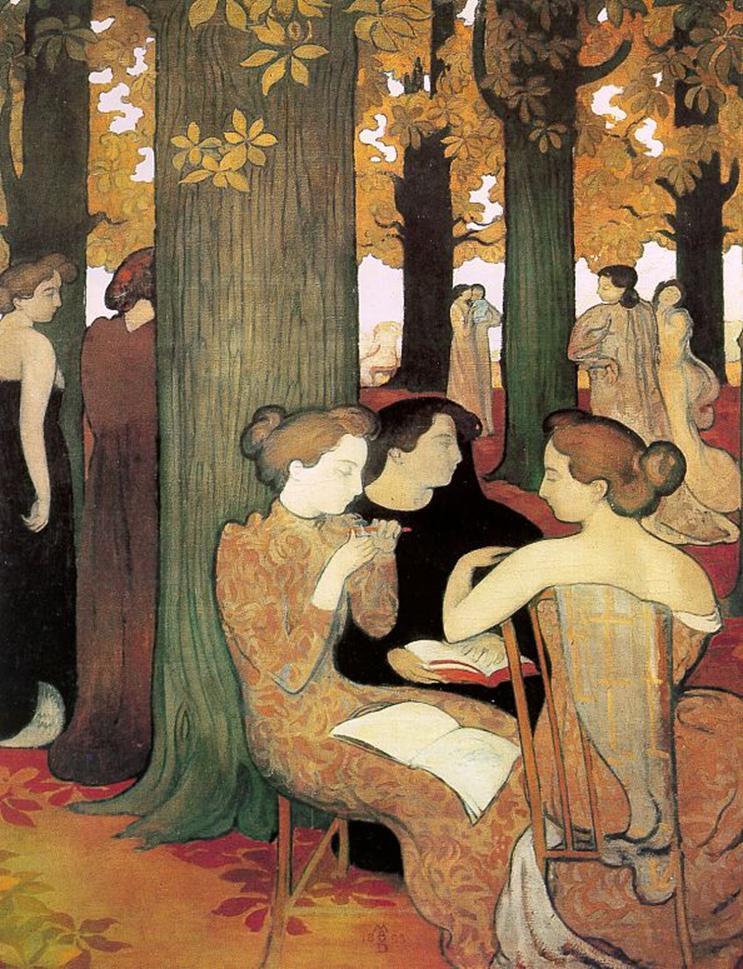 Nabis maurice denis pintura arte historia