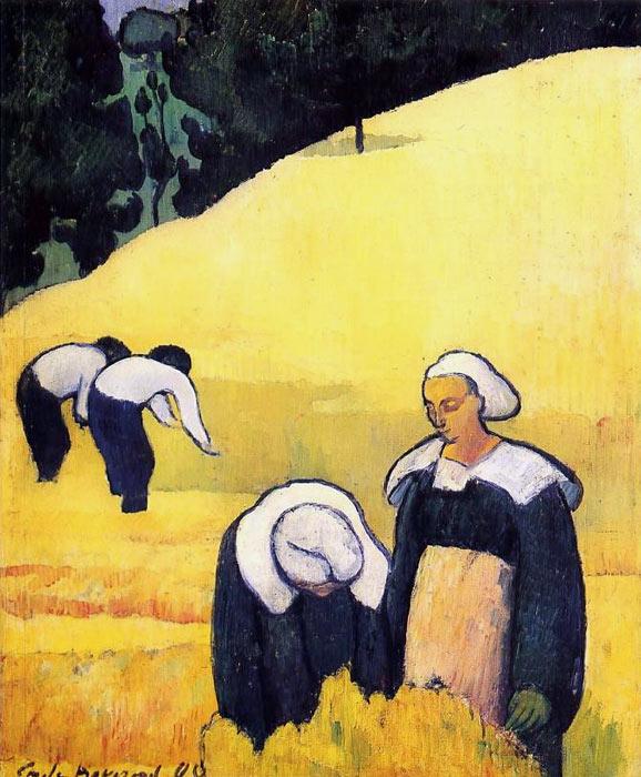 emile bernard pintura