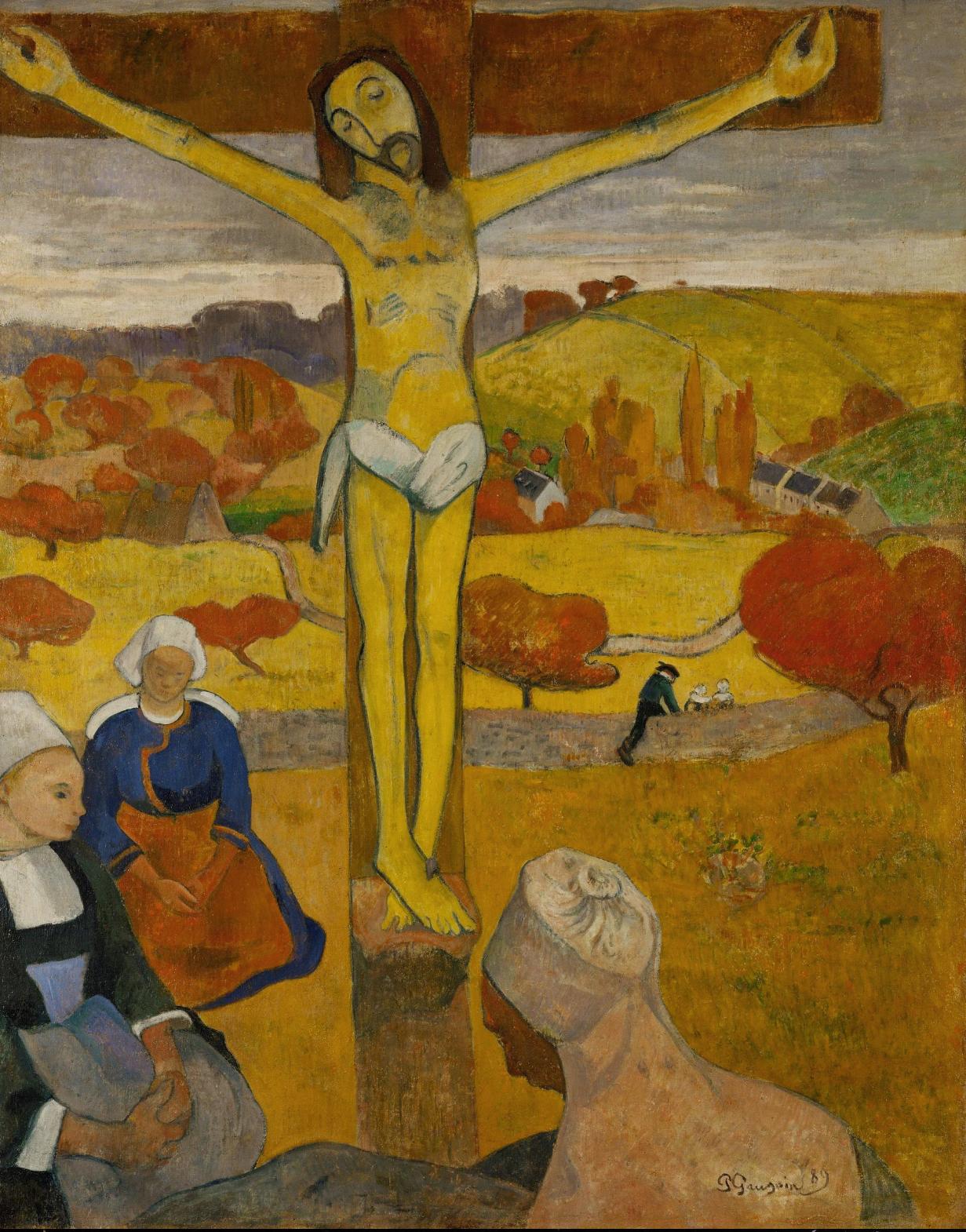 Gauguin Cristo postimpresionismo