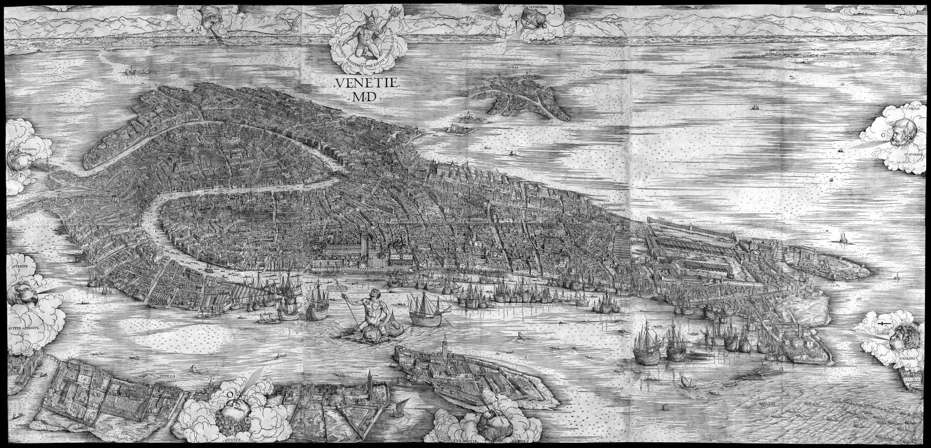 venecia barbari mapa historia