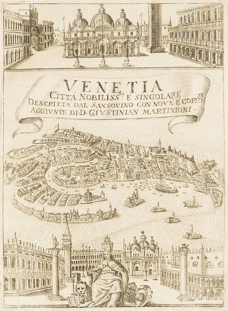 Venezia Descritta Sansovino guía