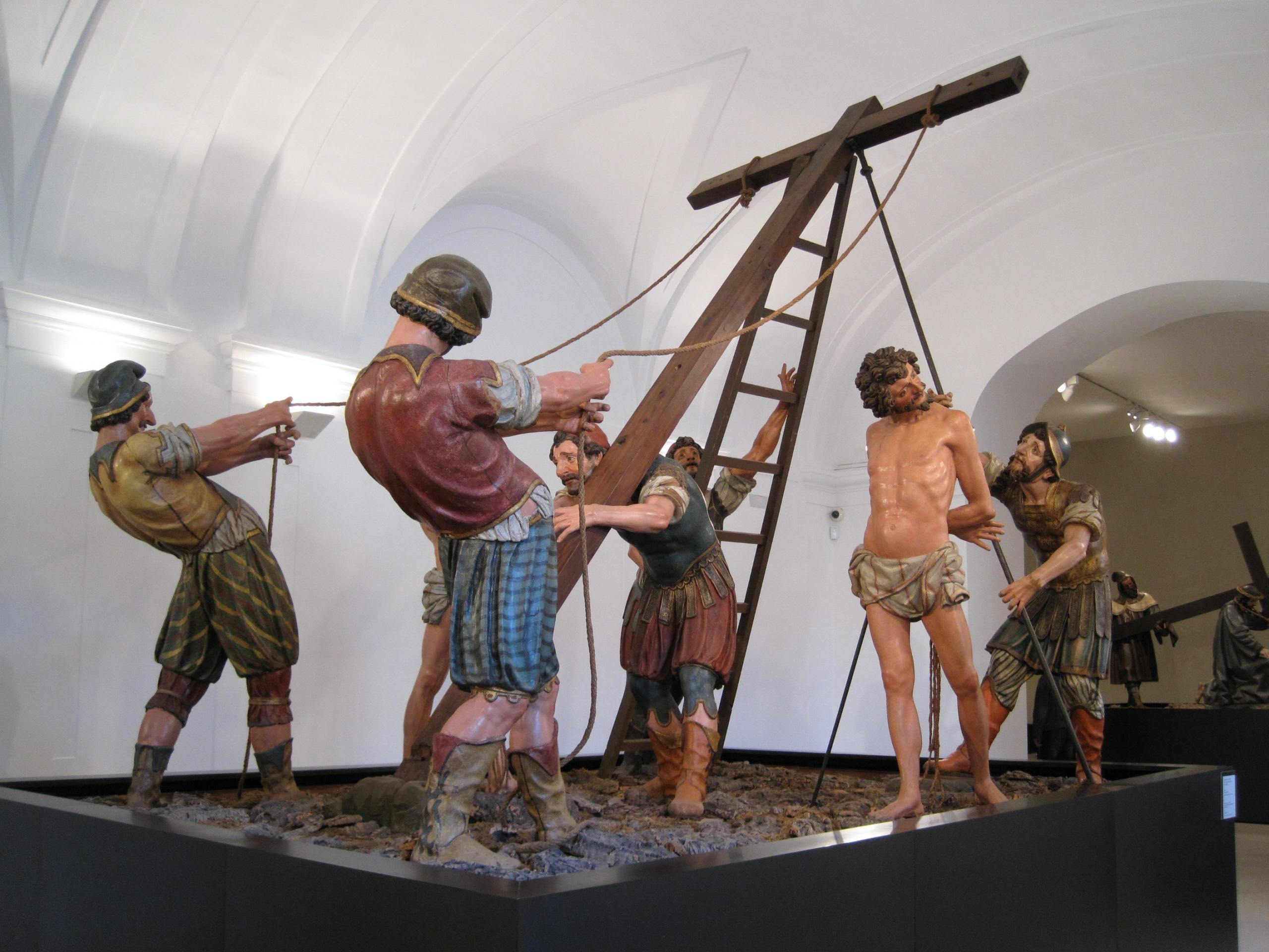 Francisco rincón escultura cristo