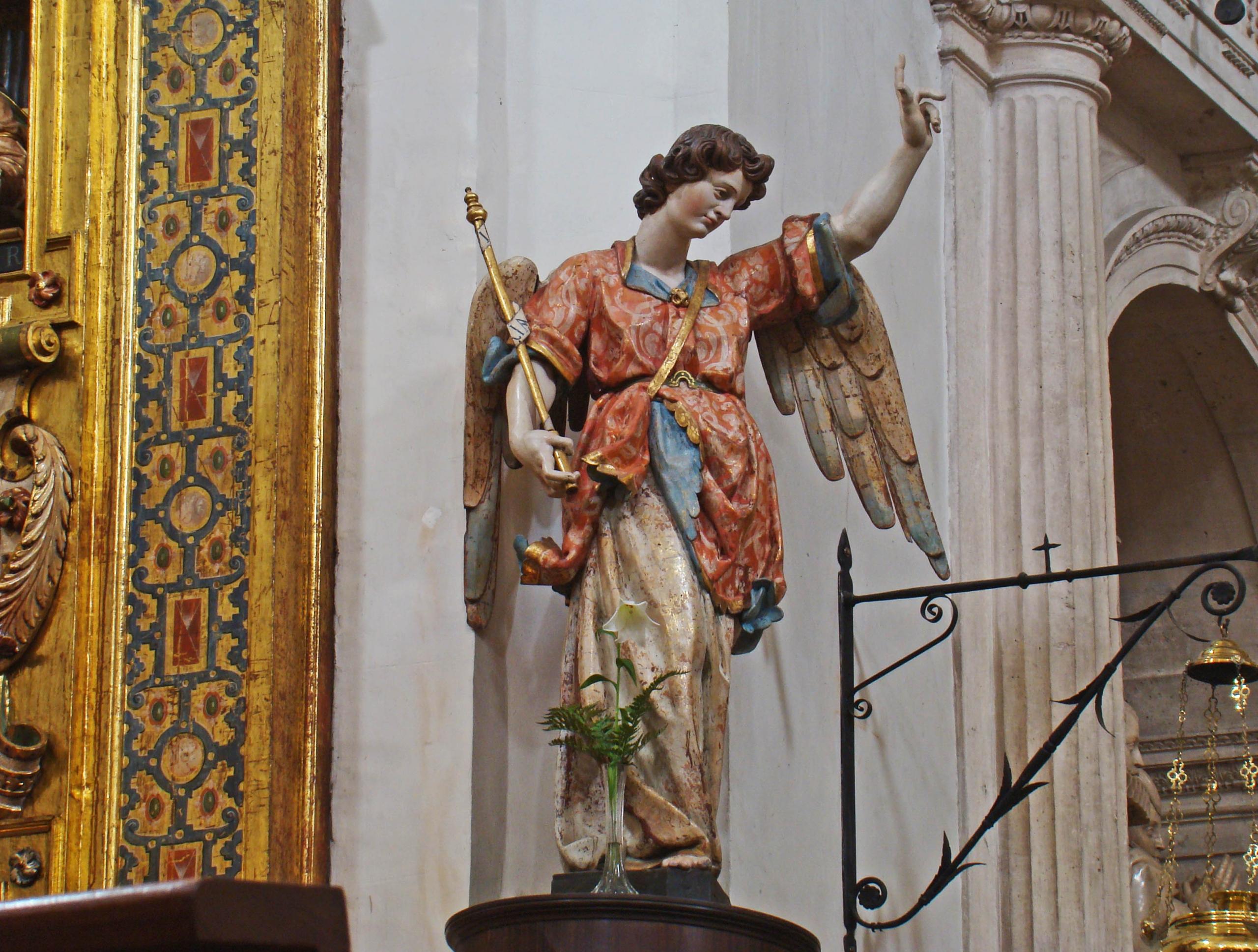 San Gabriel barroco iglesia