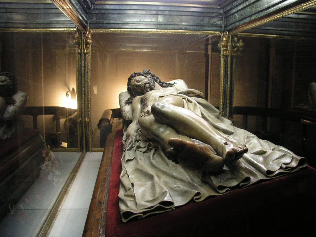 Madrid el pardo Cristo yacente
