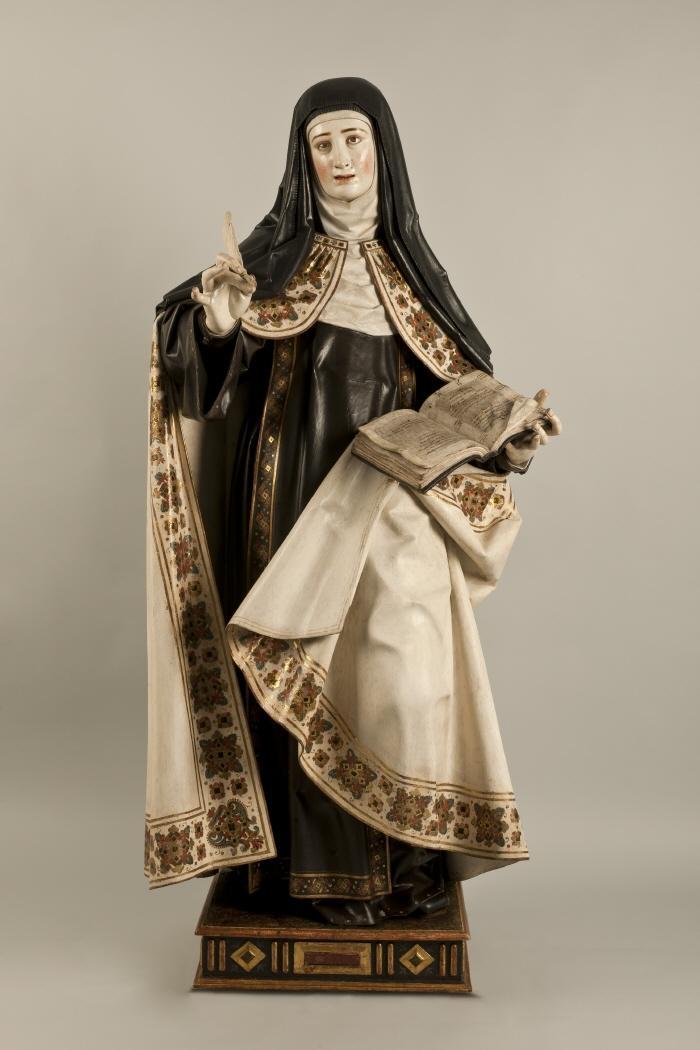 Santa Teresa Contrarreforma escultura