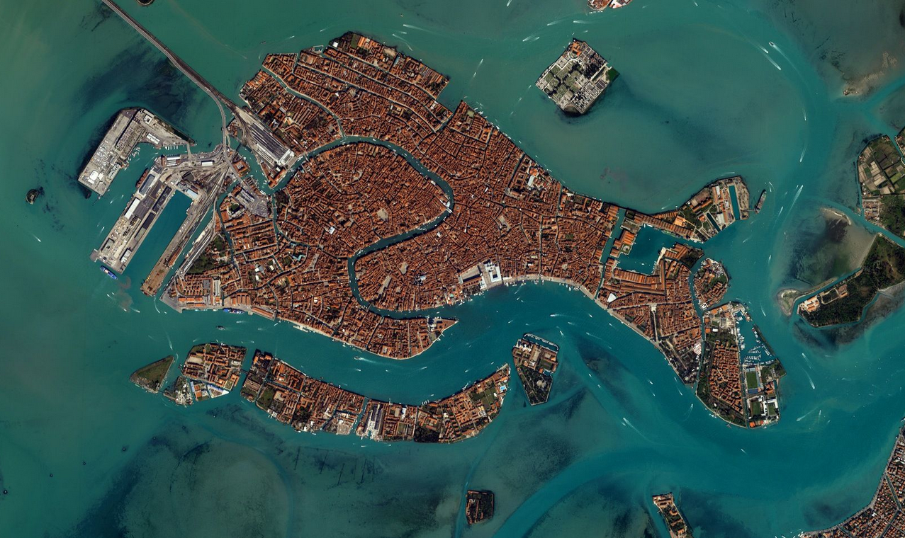 venecia foto google earth