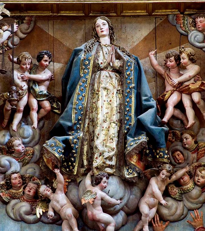 Inmaculada concepción Plasencia Gregorio Fernández