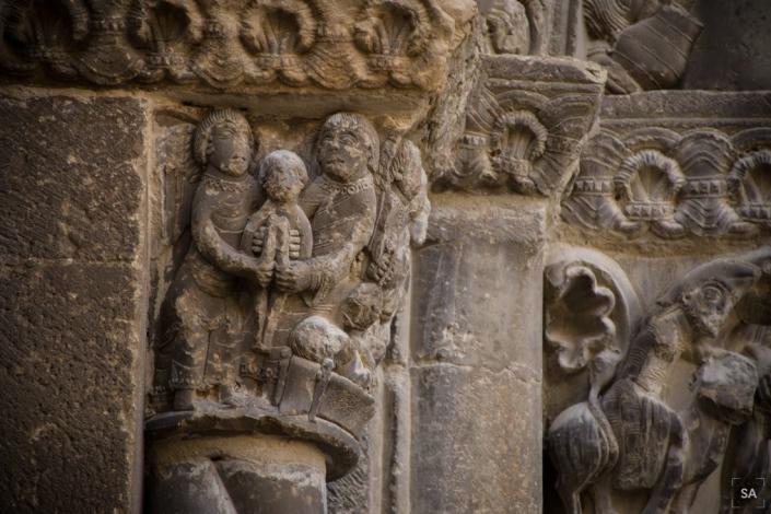 escultura iglesia