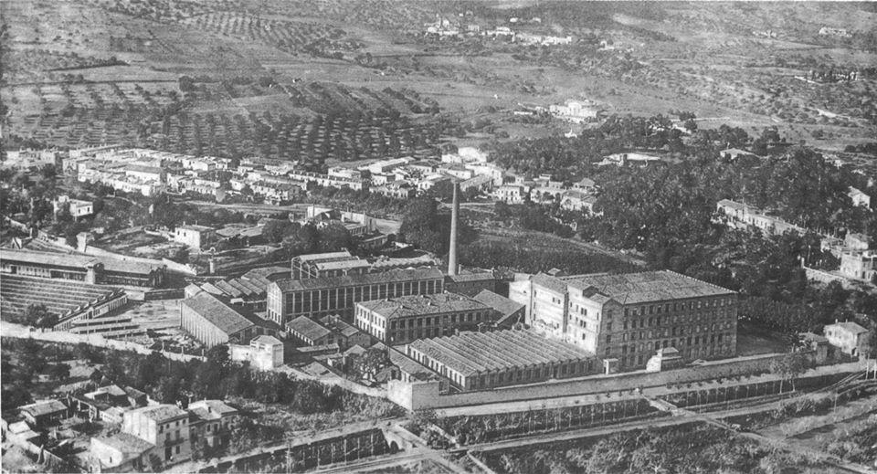 fábrica arqueología industrial