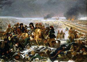 """""""Napoleón en la batalla de Eylau"""" (1808)"""