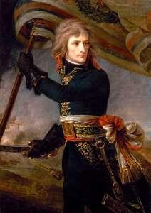 """""""Napoleón en el Pont d'Arcole"""" (1796)"""