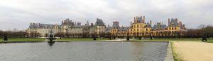 Panorámica de Fontainebleau