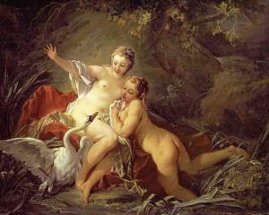 """""""Leda y el Cisne"""". 1741"""