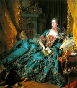 """Madame Pompadour, 1756, Alte Pinakothek, Munich"