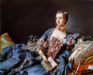 "Madame Pompadour"", 1757, National Galleries of Scotland, Edimburgo"