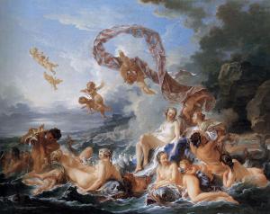"""""""El Triunfo de Venus"""", 1740, Nationalmuseum, Estocolmo"""