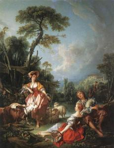 """""""Pastoral de Verano"""". 1749, Col. Wallace, Londres"""