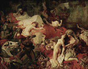 Delacroix_-_La_Mort_de_Sardanapale_(1827)