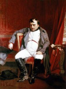 """""""Napoleón en la víspera de su primera abdicación"""" (1814)"""