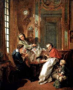 """El Almuerzo"". 1737, Louvre"