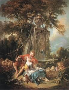 """""""Pastoral de Otoño"""". 1749, Col. Wallace, Londres"""