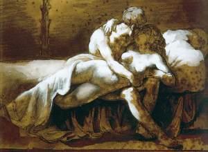 Théodore_Géricault_-_The_Kiss_-_WGA08647
