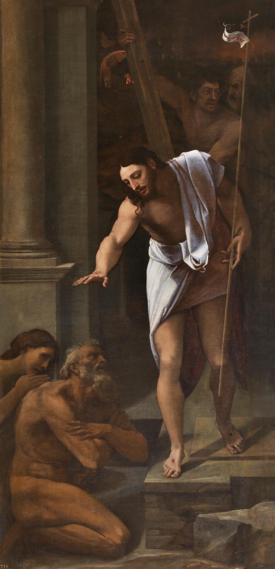 pintura renacimiento cristo