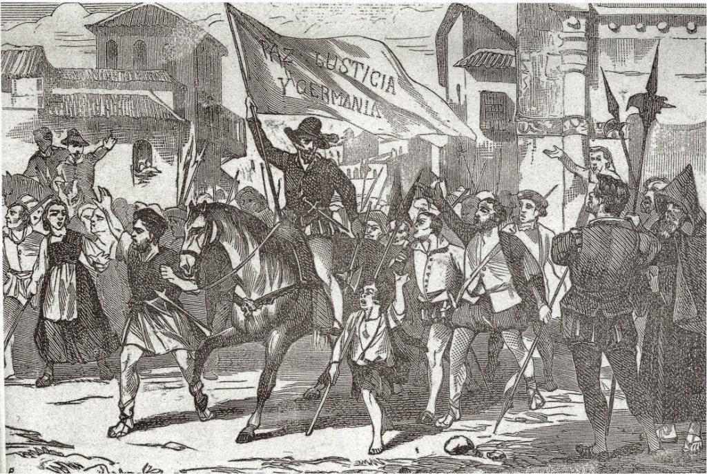 Germanias revolución historia valencia