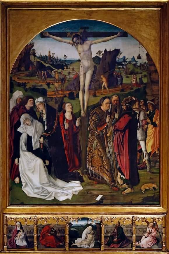 retablo calvario renacimiento