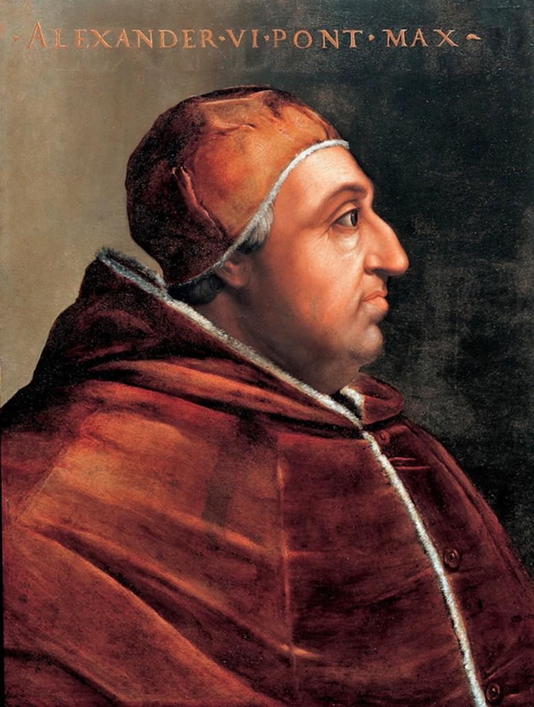 papa roma borja uffizi