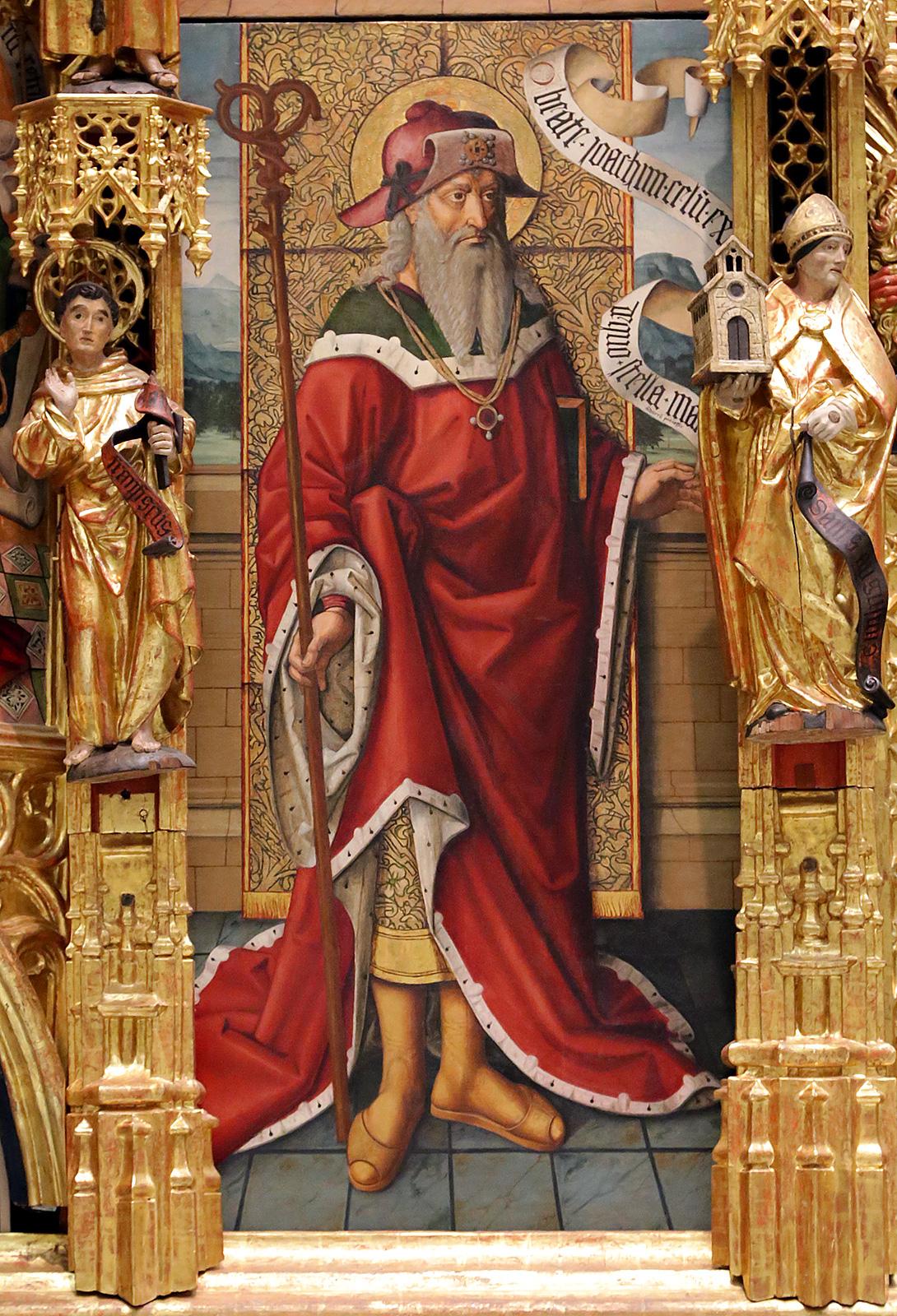 retablo artista pintor