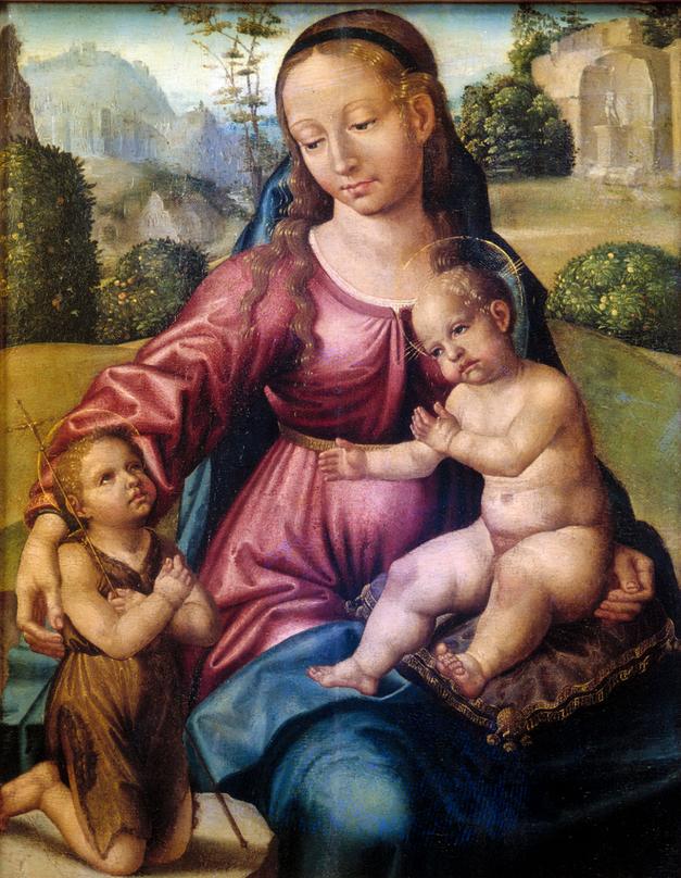 virgen maria museo arte