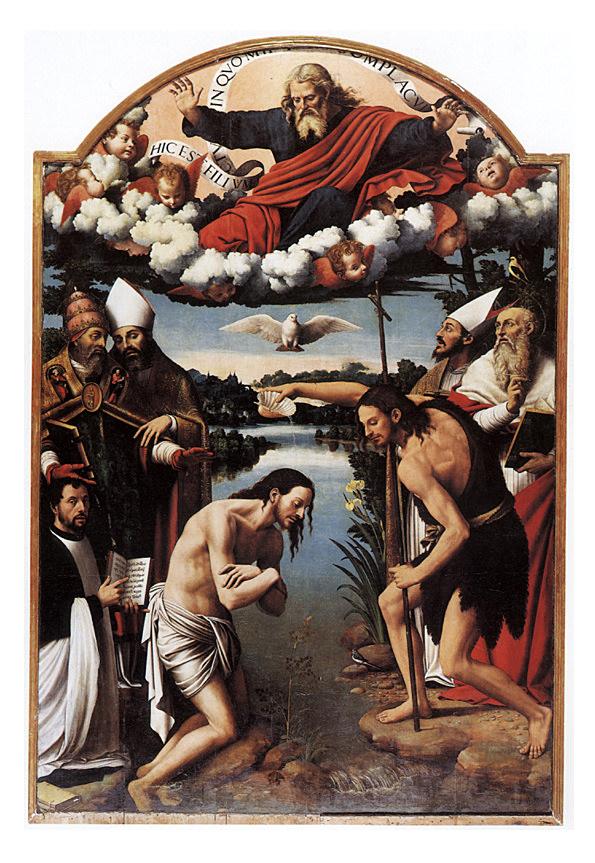 bautismo juanes pintura