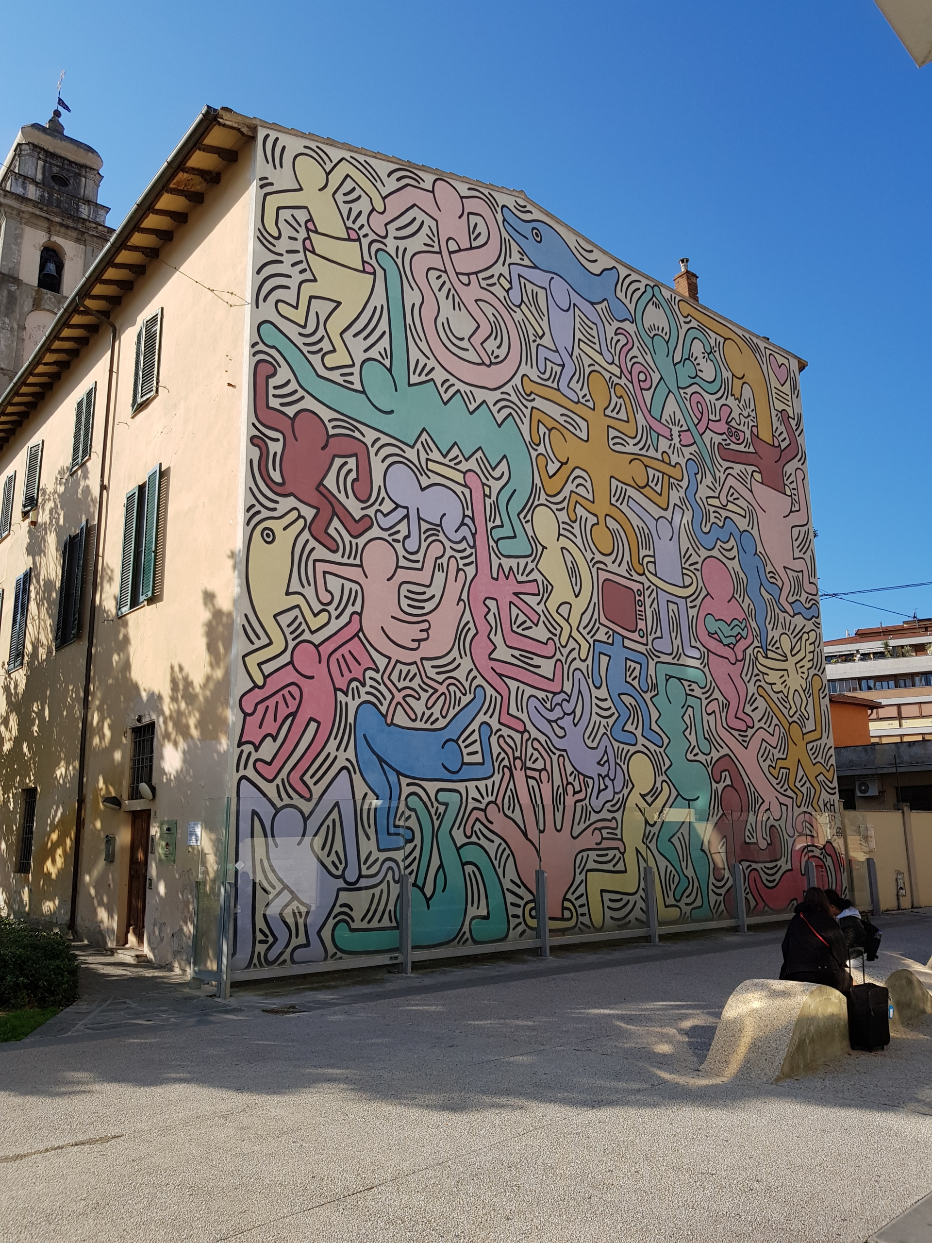 PopArt Haring grafitti