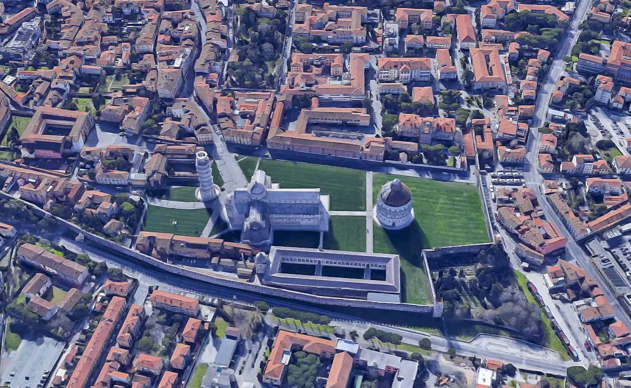 Pisa turismo patrimonio UNESCO
