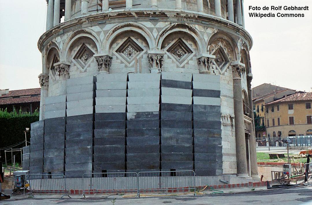 restauración Pisa UNESCO