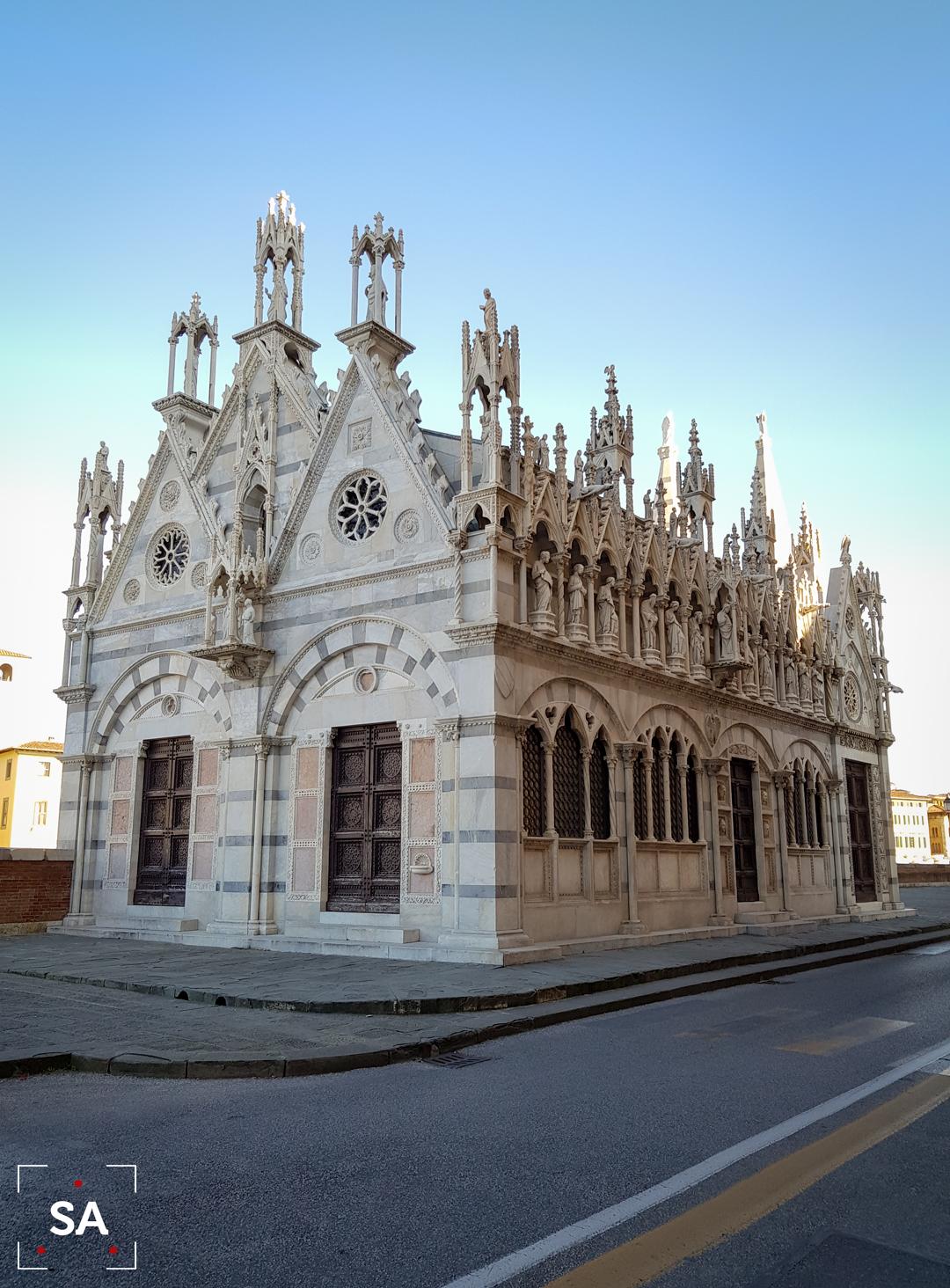 gótico arte historia pisa